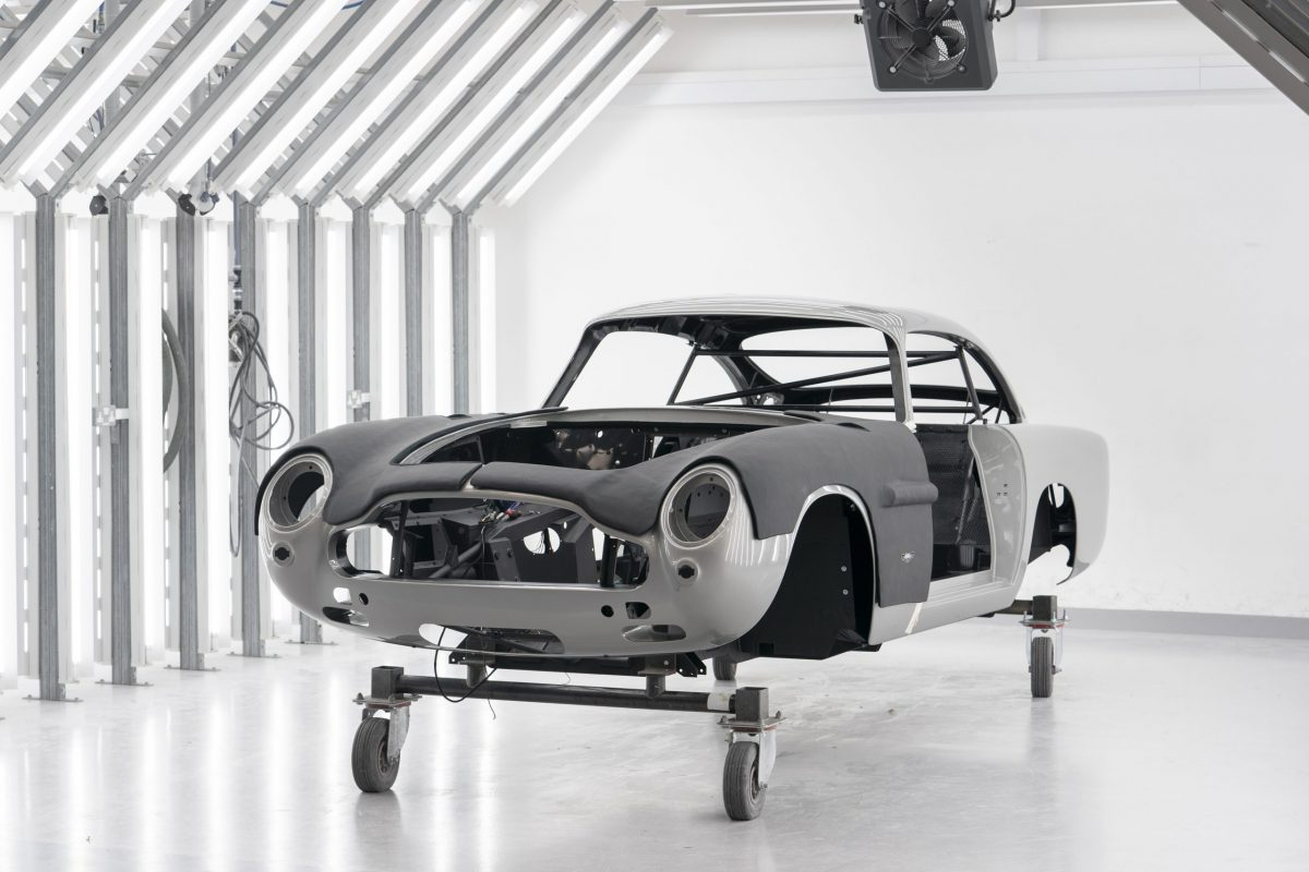 Live and Let Drive? Aston Martin begins production on new James Bond DB5s