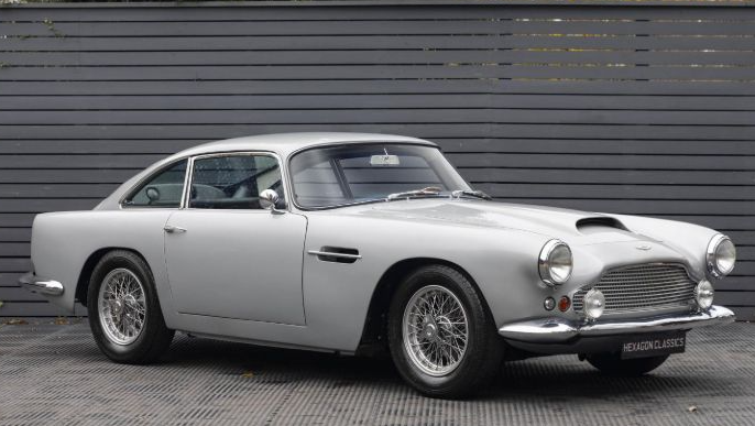 Aston Martin Db4 Series 2 Saloon LHD