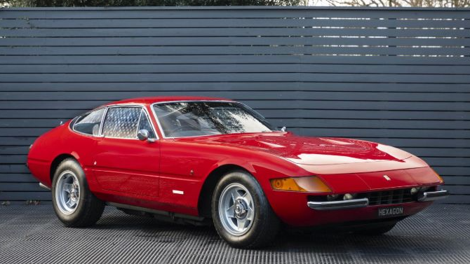 Ferrari 365 GTB/4 Daytona, Rhd