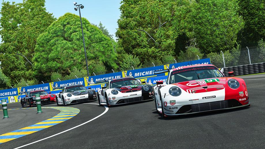 Porsche Sim Racing