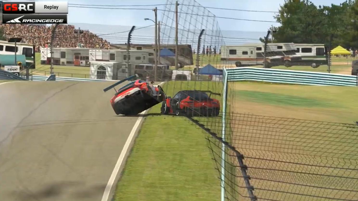 Racing Edge SimRacing Series: HUGE controversy at Watkins Glen!
