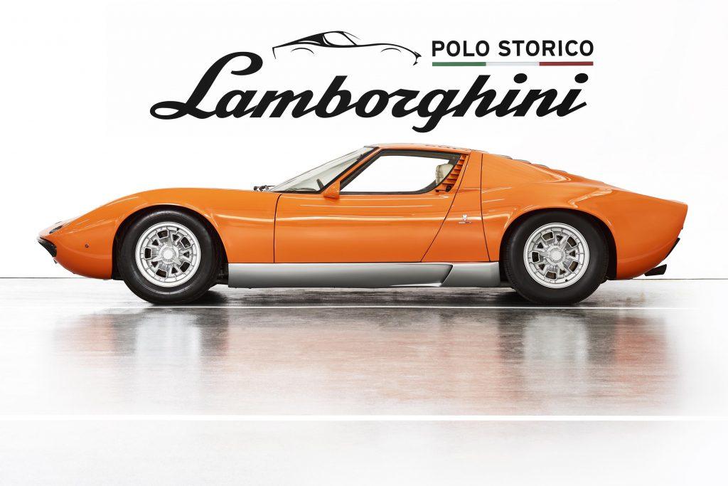 Classic car Lamborghini