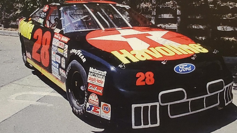 #28 – Davey Allison NASCAR – Huge History!