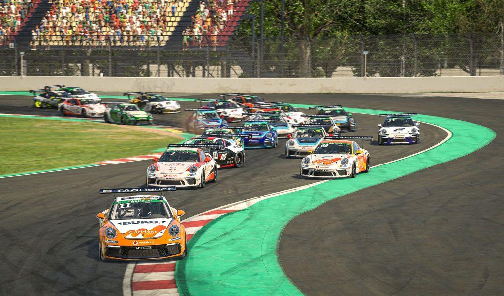 Porsche race