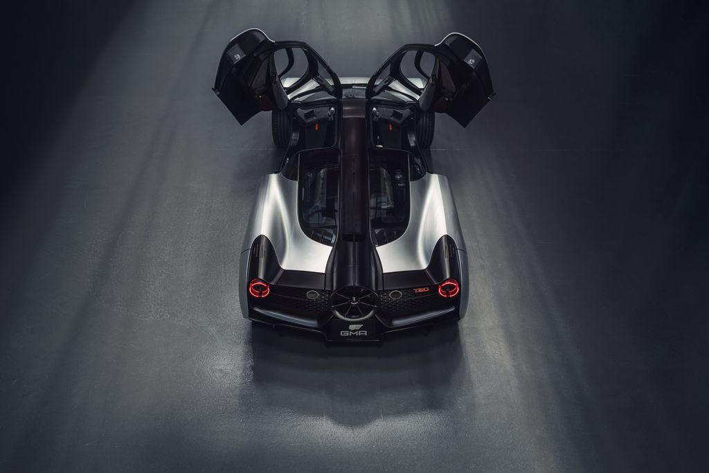 Supercar rear