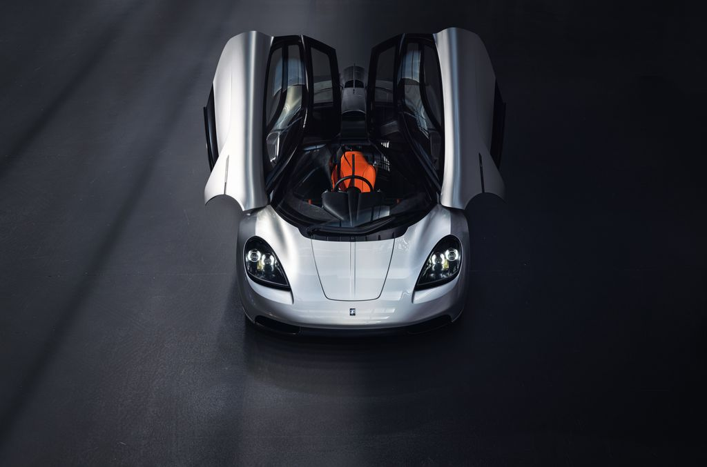 Supercar front